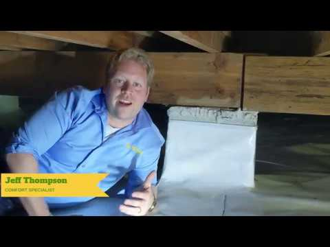 Jeff Thompson walks us through using vapor barrier to keep moisture out of your crawl space. Click here to...