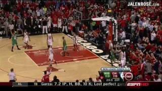 Bulls vs Celtics Game 6 3OT AMAZING!!! 2009 NBA Playoffs - Jalen Rose on ESPN