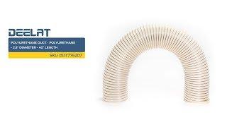 Polyurethane Duct - Polyurethane – 2.8