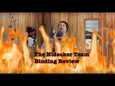 The Nidecker Team Snowboard Binding Review