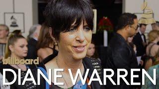 <b>Diane Warren</b> The 2016 GRAMMY Red Carpet