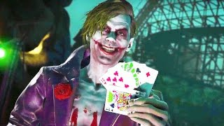 INJUSTICE 2 The Joker SUPER MOVE Gameplay
