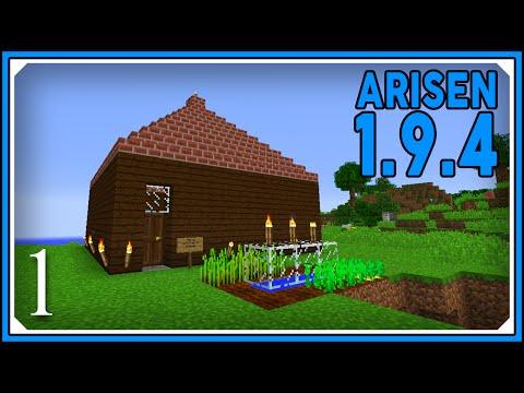 Minecraft Mods: ARISEN 1.9.4 Modpack   Let's Play Arisen 1.9.4   E01 (Modded Single-Player)