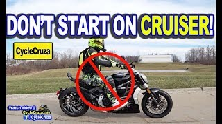 5 Reasons To NOT START On Cruiser Motorcycle | MotoVlog
