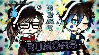 Rumors~ // GLMV - Gacha Life Music Video - NEFFEX [Elena × Jack]