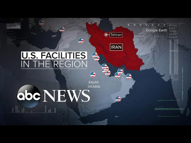Iran confirms missile strike on 'invasive US forces'