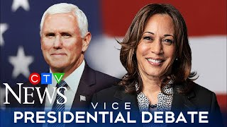 Watch the full U.S. vice-presidential debate between Mike Pence and Kamala Harris