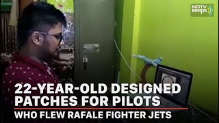 22-Year-Old Designed Patches For Pilots Who Flew Rafale Fighter Jets | NDTV Beeps