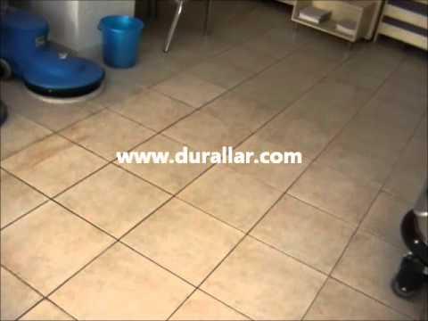 Durclean 43 B/Powerwash SC3A Akülü zemin temizlik makinası tanıtım videosu