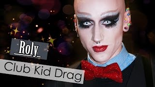 Gothic Club Kid Makeup - Roly | Electra Snow