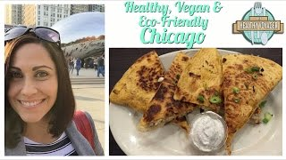 Vegan Chicago on The Healthy Voyager Travel Show