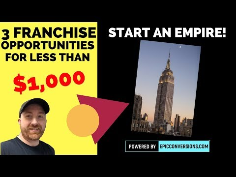 , title : '3 Franchises You Can Start For Less Than $1,000 Bucks!