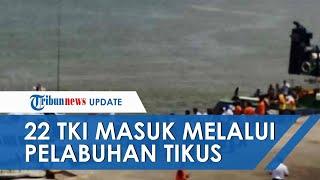 22 TKI yang Nekat Masuk Melalui Pelabuhan Ilegal di Batam, Kini Dikarantina di Rusun BP Setempat