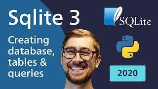 Sqlite 3 Python Tutorial in 5 minutes - Creating Database, Tables and Querying [2020]