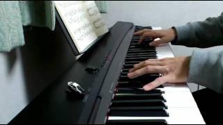 ピアノ 「アシタカとサン」 (もののけ姫)