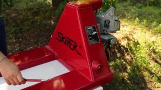 Гидравлическая тележка Skiper SKF 25 1150 PP Profi от компании ПКФ «Электромотор» - видео