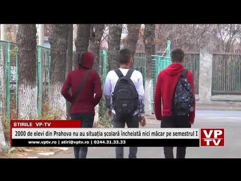 2000 de elevi din Prahova nu au situația școlară încheiată nici măcar pe semestrul I