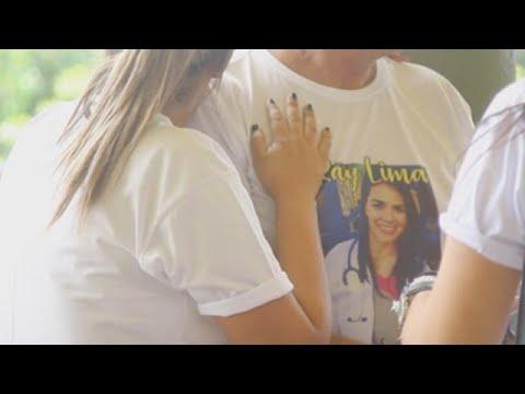 Entierran en Brasil a la estudiante asesinada en Nicaragua