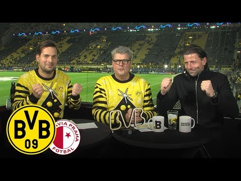Anstoß - Die WarmUp-Show mit Nobby Dickel & Roman Weidenfeller   BVB - Slavia Prag