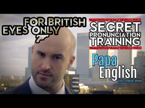 Secret British Accent Pronunciation Training