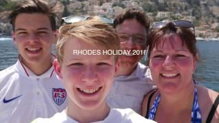 Rhodes Holiday - Summer 2016