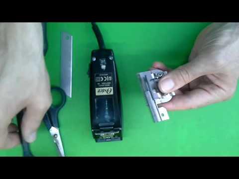 Как смазывать ножевой блок - Oster 616 парикмахерская машинка для стрижки волос