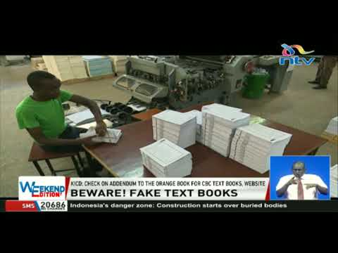 KICD issues alert, unapproved textbooks in circulation