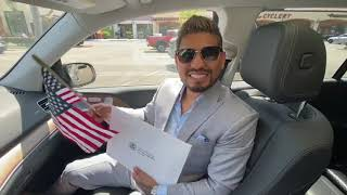Abner Mares Becomes U.S Citizen