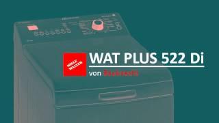 Review: Bauknecht WAT PLUS 522 Di Toplader Waschmaschine