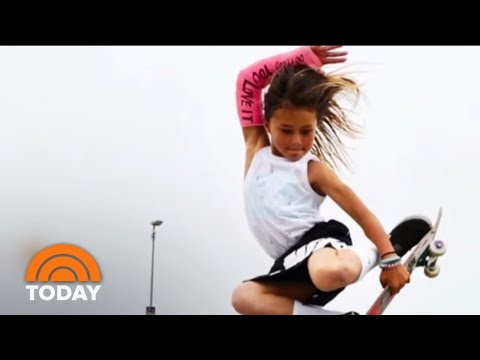 11-Year-Old Skateboarder Sky Brown Is Flying Toward The 2020 Olympics | TODAY