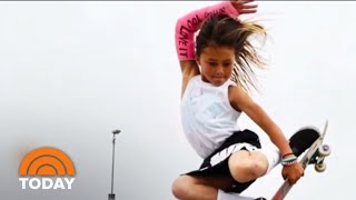 11-Year-Old Skateboarder Sky Brown Is Flying Toward The 2020 Olympics   TODAY