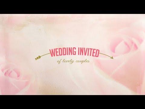 Wedding invitation card | Lovely couples