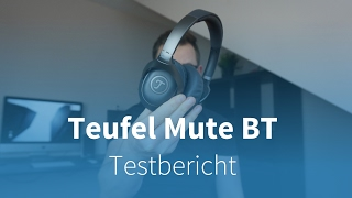 Teufel Mute BT TESTBERICHT und VERGLEICH mit Bose QC35