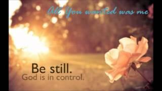 Be Still by Anthony Evans