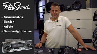 Oldtimerradios von RetroSound: USB, Bluetooth und DAB+ in klassischem Look