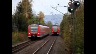 preview picture of video 'S-Bahn-Treffen am gestörten BÜ Empelde'