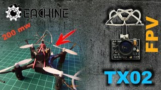 Ставим камеру на квадрокоптер (Eachine h8 mini + eachine tx02)