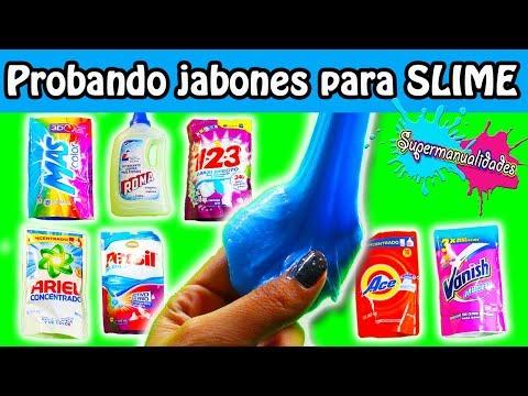 ¿Qué jabón líquido sirve para  Slime? - Supermanualidades