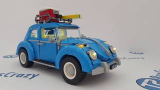 LED Light kit Install in the Lego Volkswagen Beetle 10252
