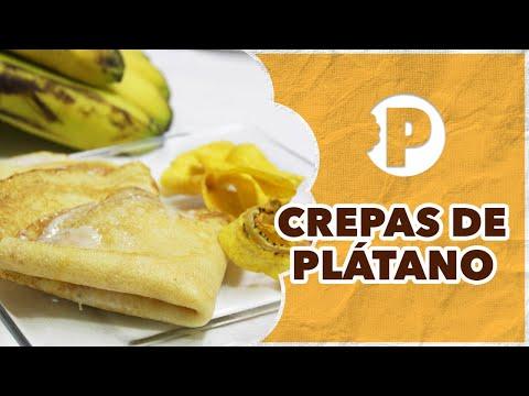Crepas de Plátano