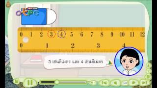 สื่อการเรียนการสอน การวัดความยาวและหน่วยวัดความยาว ป.3 คณิตศาสตร์