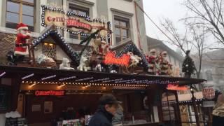スイス発 ルツェルン市内のクリスマスマーケット 可愛いサンタクロース【スイス情報.com】
