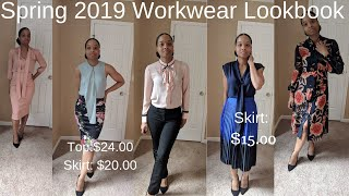 SPRING 2019 WORKWEAR LOOKBOOK | How To Be Chic For Cheap | Business Casual | Business Professional