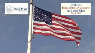 Independence Day Ceremony at Fort Phoenix - July4, 2018