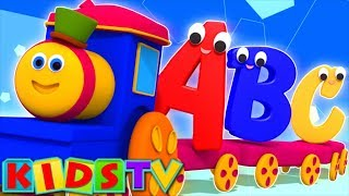 Bob The Train  Alphabet Adventure  Abc Song  Abcd Song