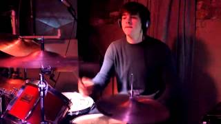 The Fall of Troy - We Better Learn To Hotwire A Uterus (drum cover)