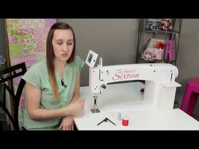 Handi Quilter Sweet Sixteen Sit-down Package w/ Bonus Package : sweet 16 long arm quilting machine - Adamdwight.com