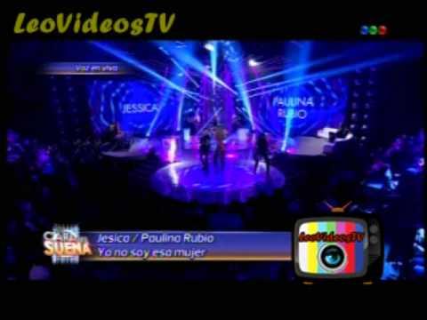Jesica Cirio es Paulina Rubio en Tu Cara me suena 3 #GH2015 #GranHermano