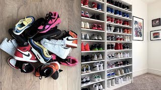 How To Use Ikea Shelves To Build A Sneaker Closet | Tutorial