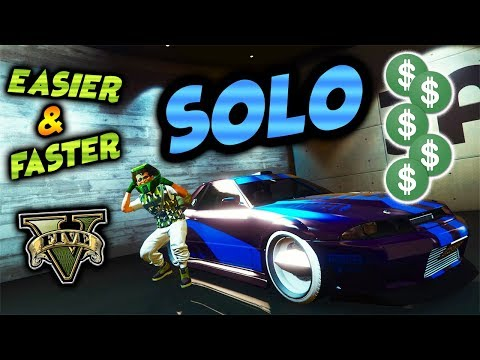 *NEW*SOLO MONEY GLITCH*UPDATED STEPS*NO ALERTS*NO PLATES*CAR DUPLICATION GLITCH*GTA 5 ONLINE 1.43